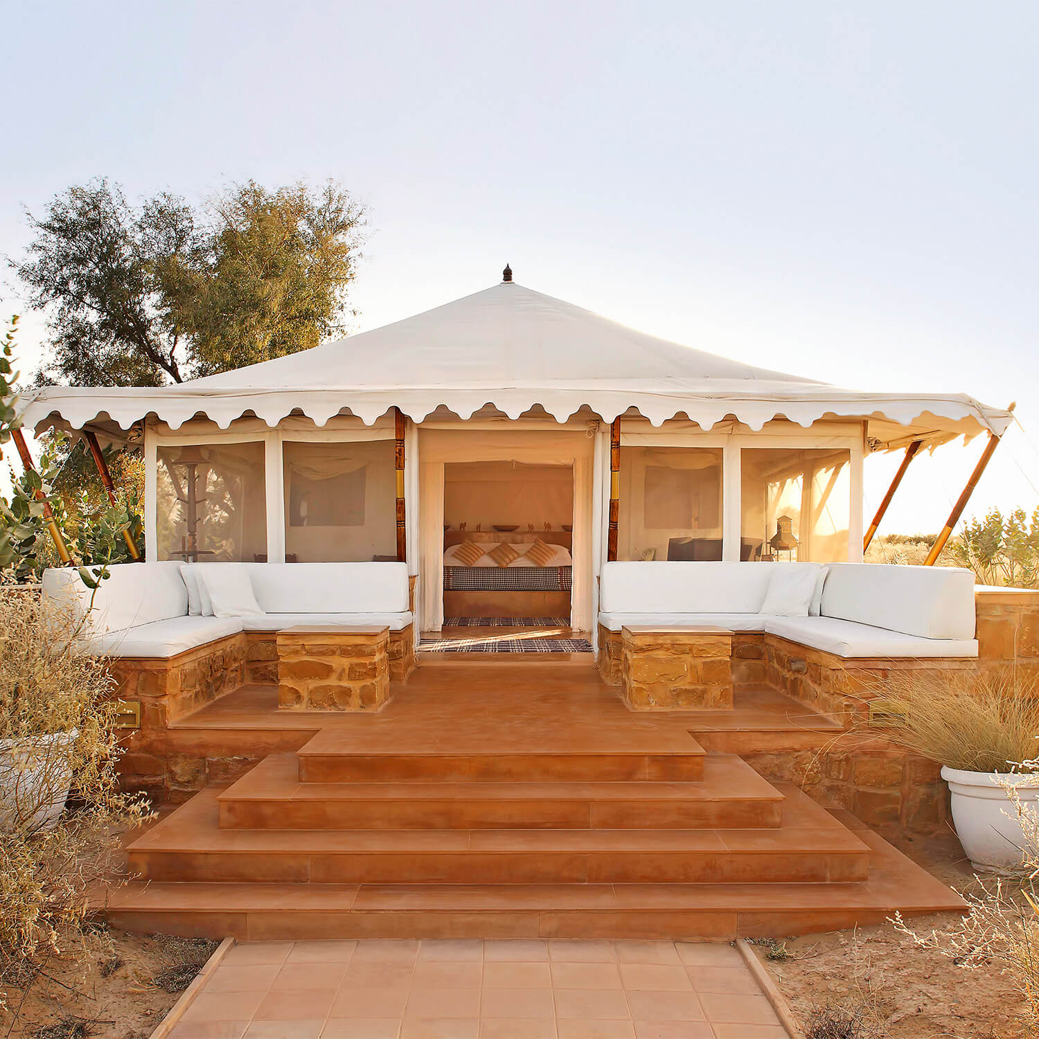 SUJÁN The Serai - The Luxury Tented Suite