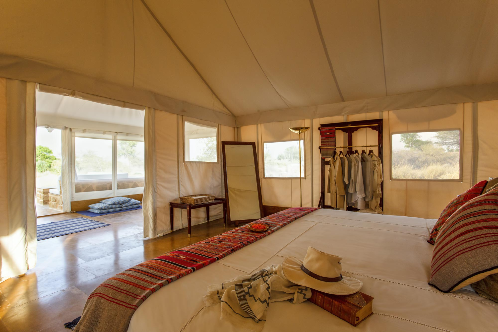 The Luxury Tented Suite