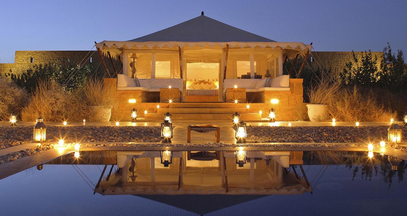 SUJÁN The Serai   Luxury Desert Camp   Jaisalmer, Rajasthan, India